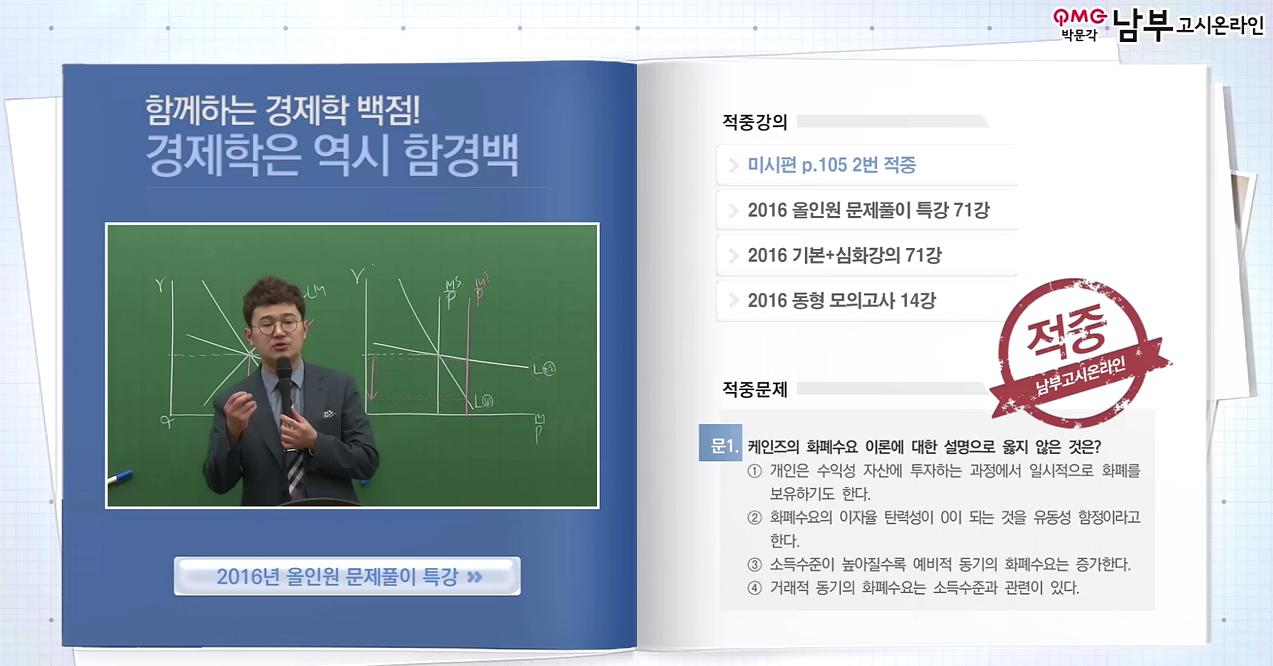 함경백 | 2016 대비 기출문제 분석에 의거한 함경백 경제학 단기간 합격하는 퀵 솔루션 소개!